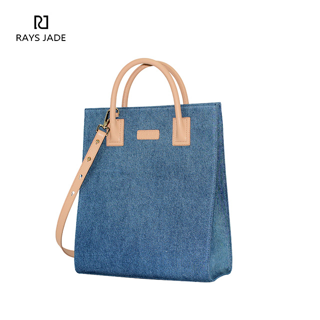 9a641220b20a Blue Denim   Leather Bag Designer Combination - Rui Xin Leather bag ...